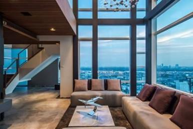 Triplex penthouse for sale pet friendly building Bangkok