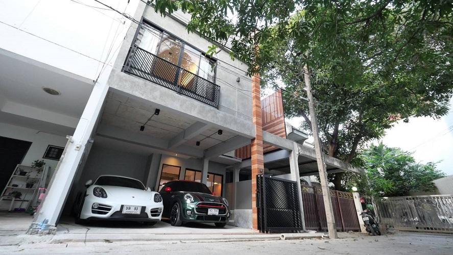 House for rent in Sukhumvit loft style