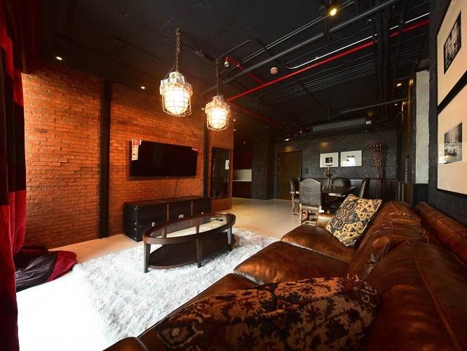 Pet Friendly Lake River View Luxury Loft 3 Bedroom Rent Phromphong
