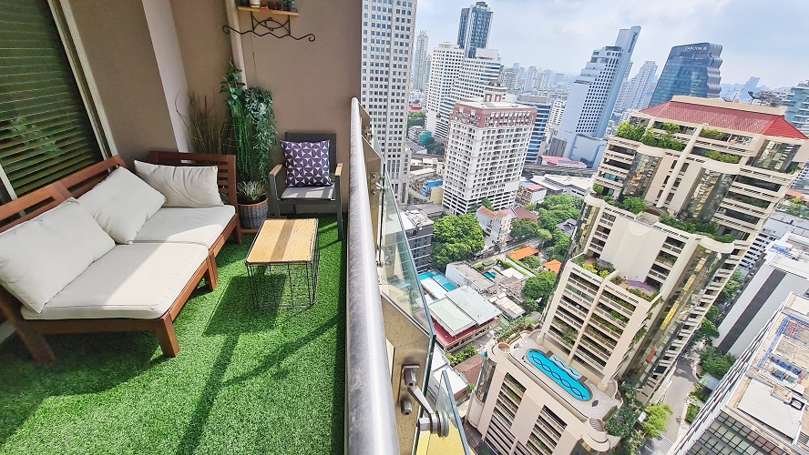 Pet friendly Spacious Luxury 2 bedroom condo amazing views BTS Asok