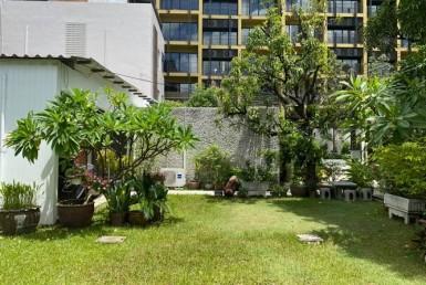 Cozy Thai style house with greenery 3 Bedroom Ruamrudee Ploenchit