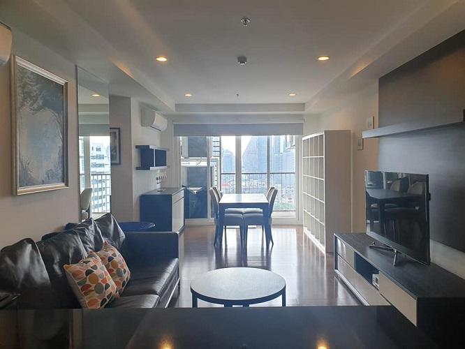 Modern Style City View 2 Bedroom Rent Asoke Nana