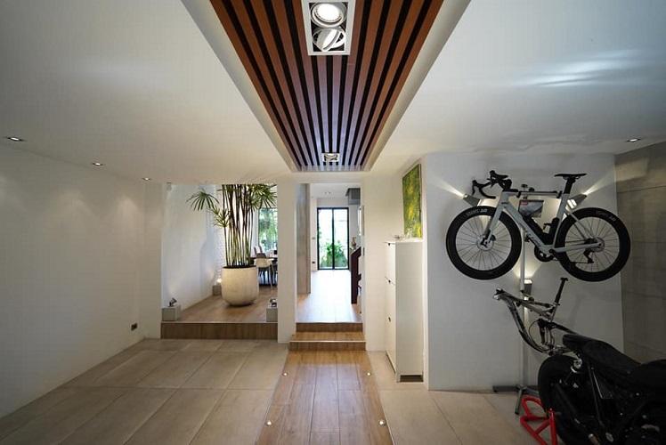 Spacious pool townhouse 4 floors 3 Bedroom Rent Sukhumvit Phrakhanong