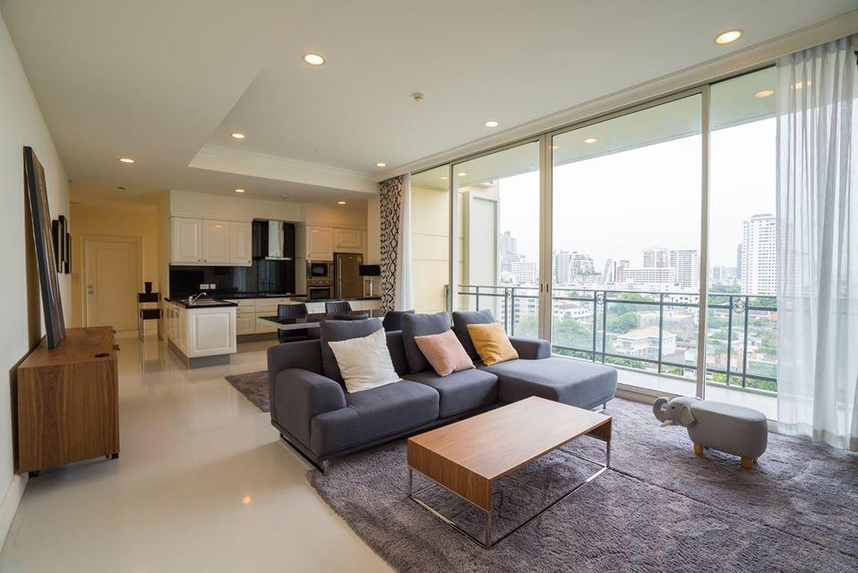 Modern Nice View 2 Bedroom Rent Asoke Phromphong