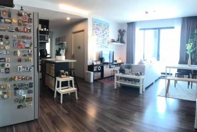 Cozy Full Furnished 2 Bedroom Sale Condo BTS Bearing Sukhumvit