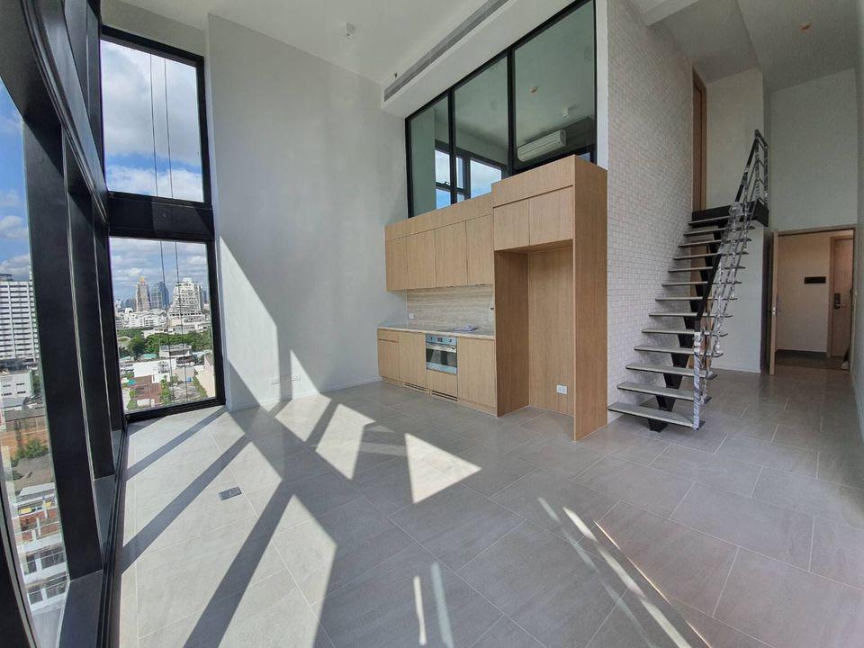 High ceiling hybrid duplex 2 Bedroom Condo Sale Silom