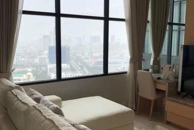 Luxury Condo Duplex 1 Bedroom Rent CBD Sathorn
