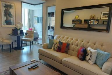 Modern luxury French 1 Bedroom Condo Rent Close to BTS Surasak