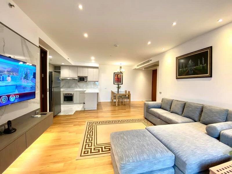 Luxury 2 Bedroom Condo Rent Silom Saladaeng