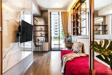 Beautiful Full Furnished 2 Bedroom Condo Rent Asoke