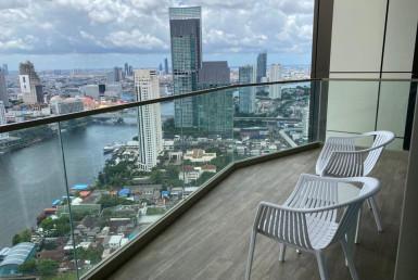 River View Balcony 1 Bedroom Condo Rent Sathorn