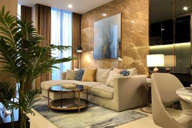 Luxury 1 Bedroom with Private Life Condo Rent Ploenchit