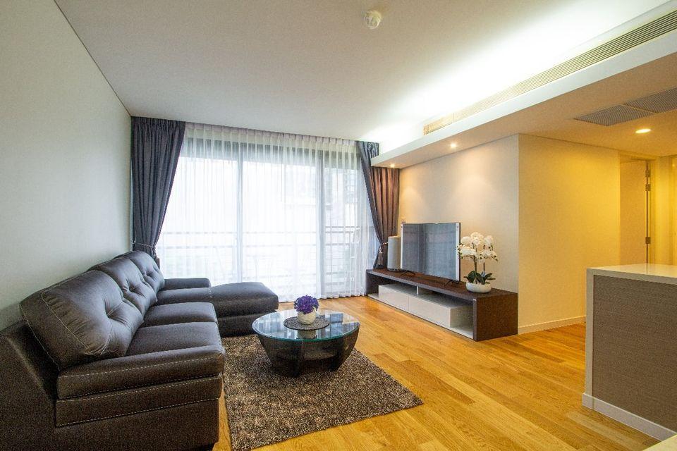 Fully furnished On quiet Sukhumvit 2 Bedroom Condo Rent Ekkamai near BTS