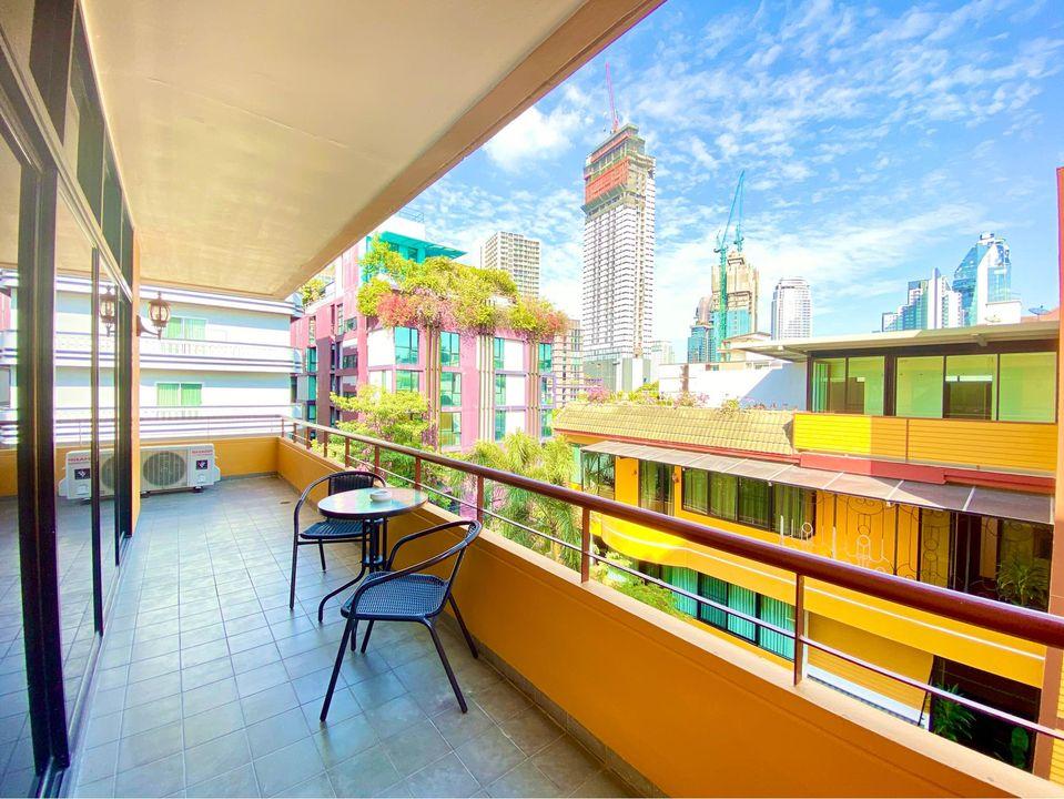 Pet Friendly Service apartment Rent 3bedrooms Thonglor Near BTS