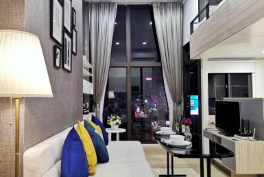 Nice View Duplex 1 Bedroom Condo Rent Asoke